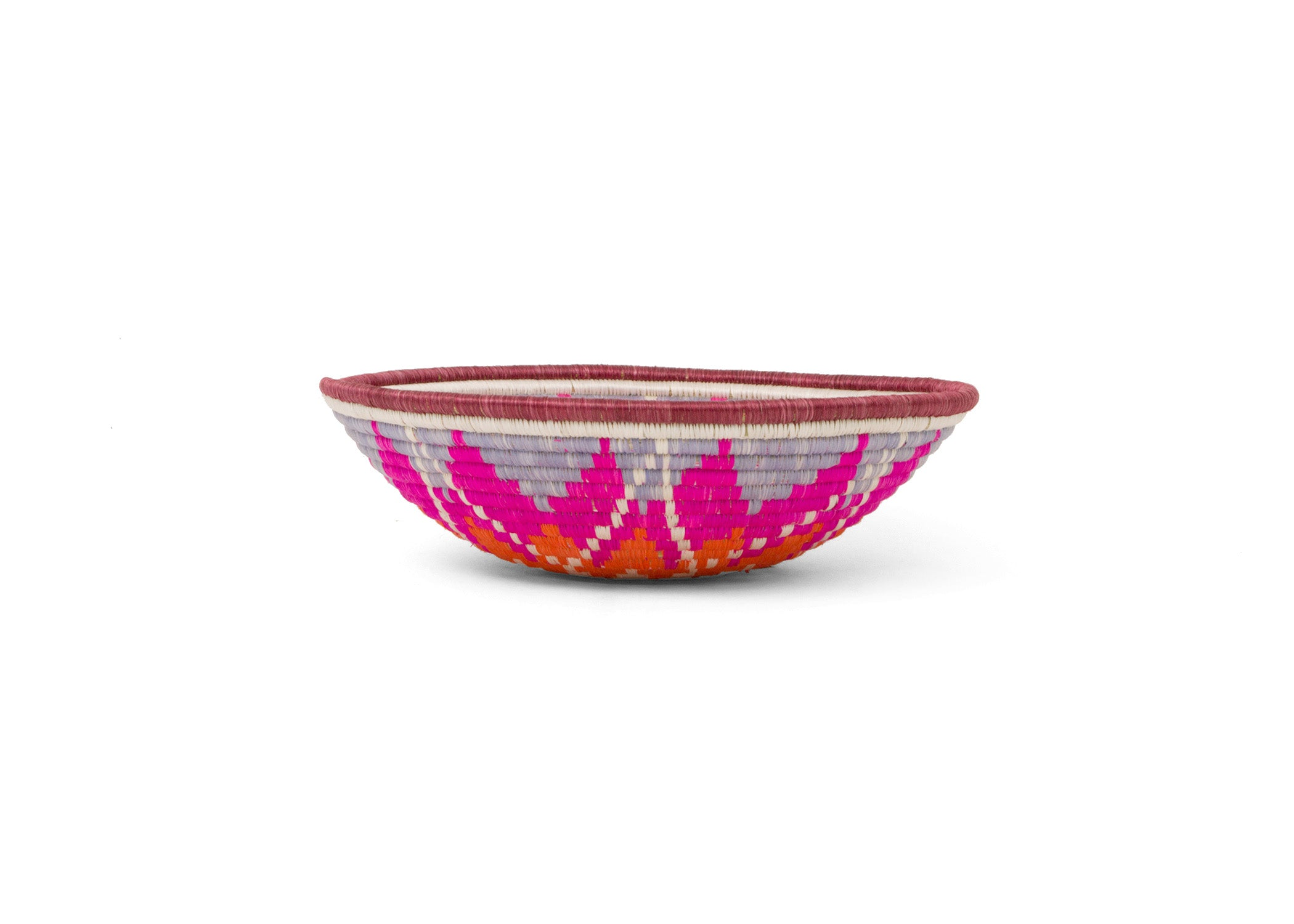 Large Vivid Viola Hope Bowl - KAZI - Artisan made high quality home decor and wall art