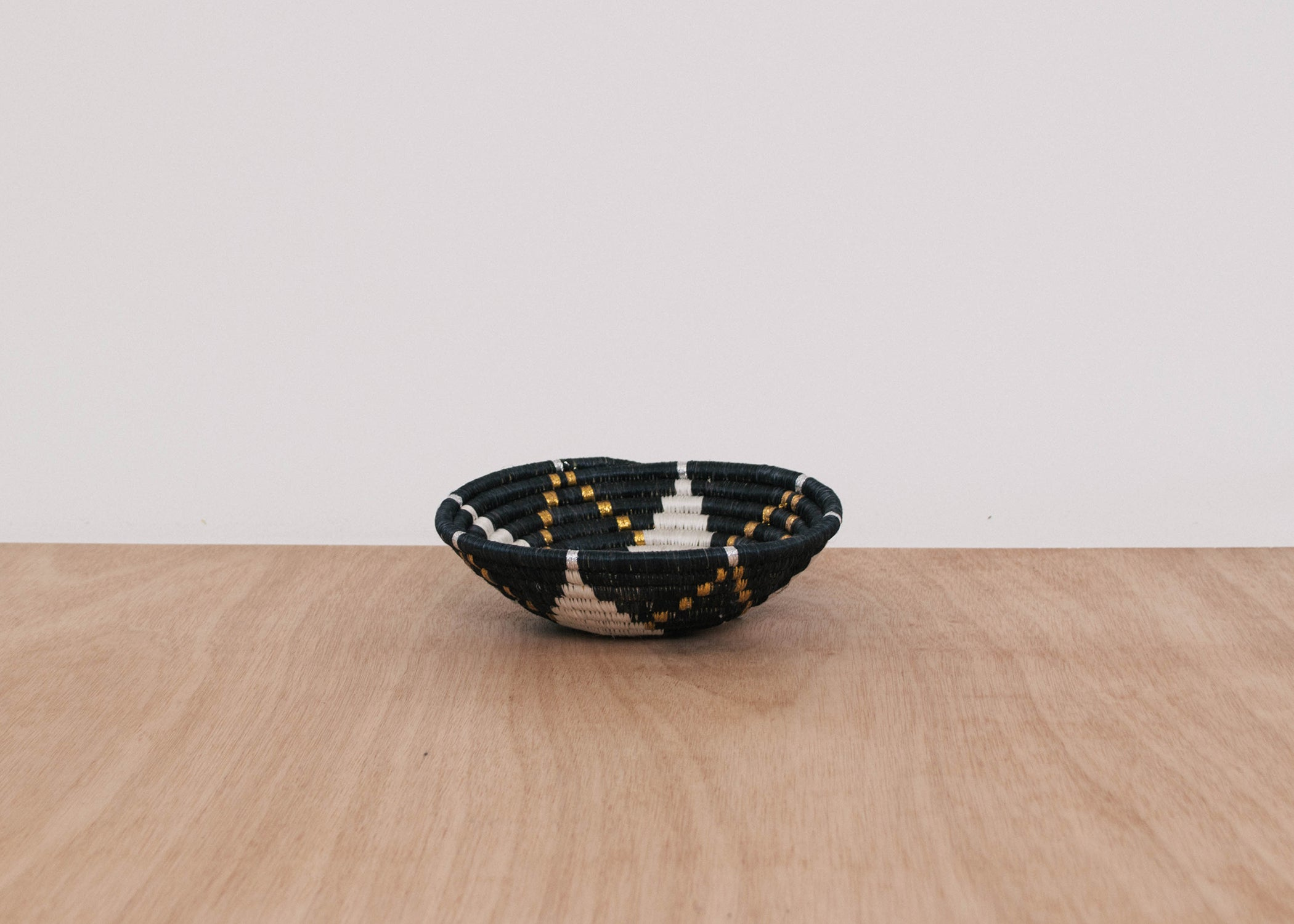 Small Gilded Black Hope Bowl - KAZI - Artisan made high quality home decor and wall art