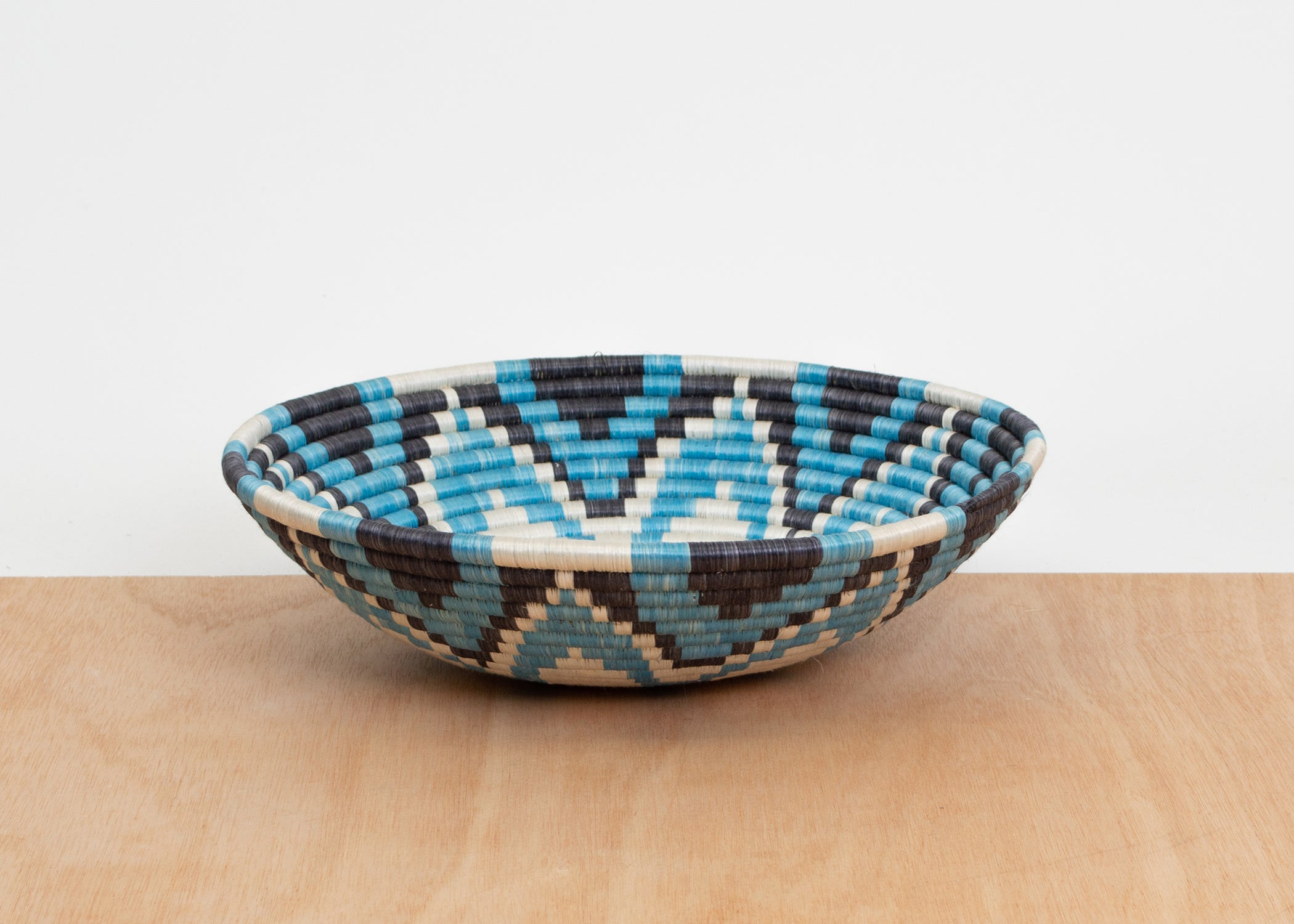 "14"" Extra Large Arctic Blue Bowl - KAZI"
