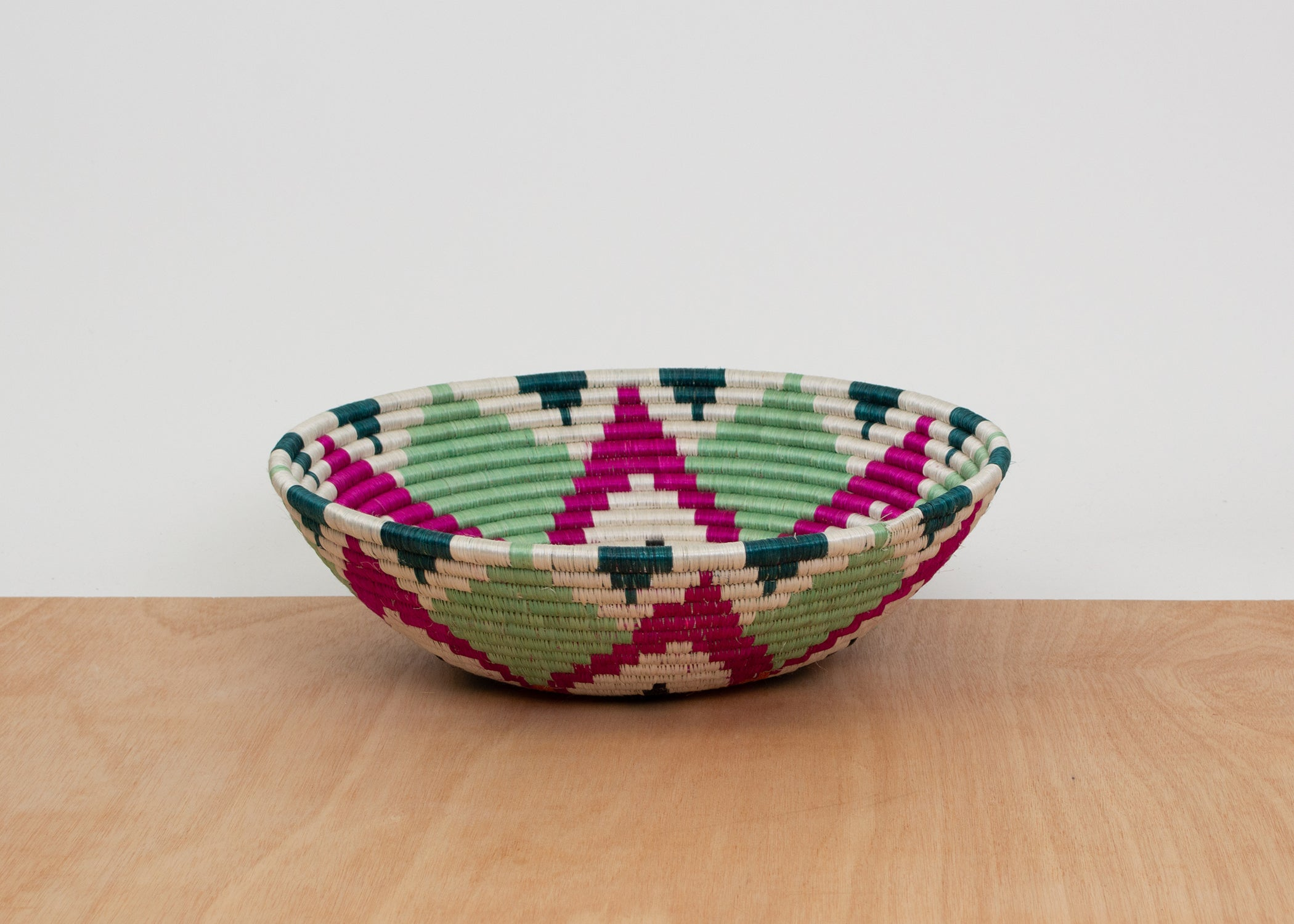 Jumbo Vivid Viola Ikaze Bowl - KAZI - Artisan made high quality home decor and wall art