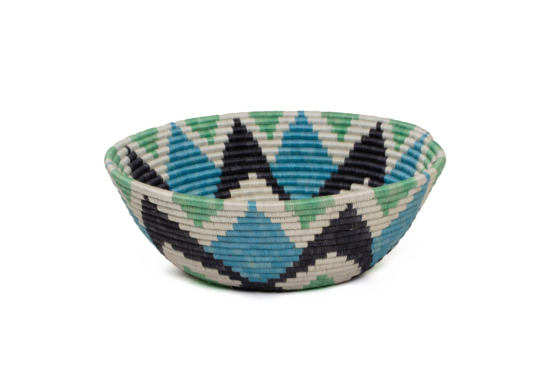 Jumbo Denim Blue Ikaze Bowl - KAZI - Artisan made high quality home decor and wall art
