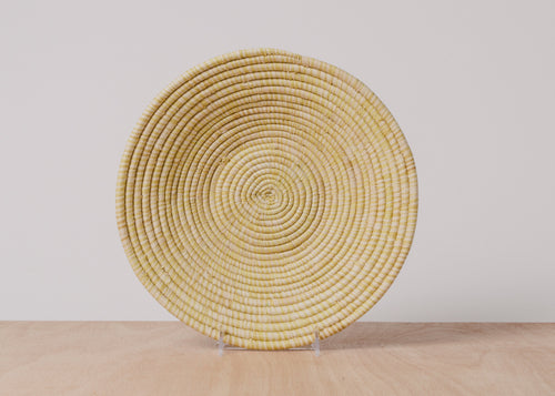 Heathered Sun Large Raffia Basket
