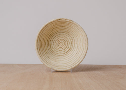 Natural Small Raffia Bowl