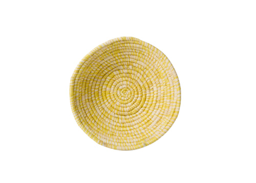 Heathered Sun Small Raffia Basket