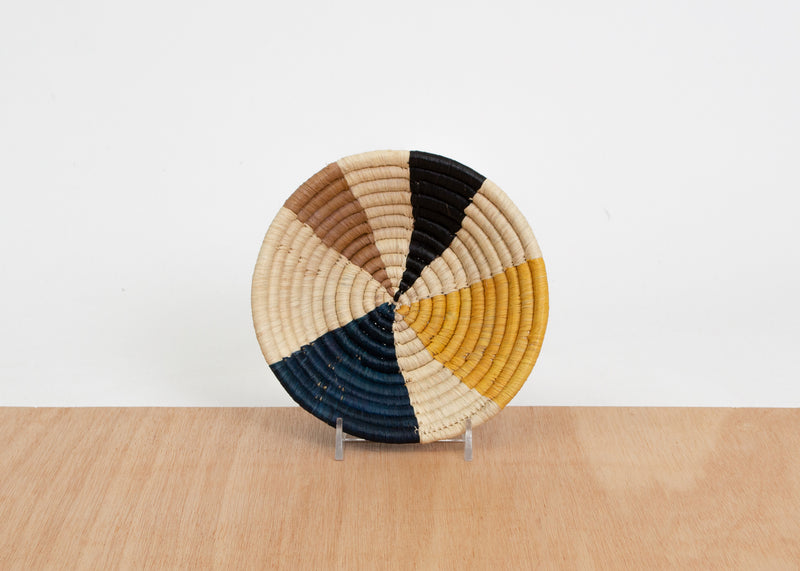 Mustard Wheel Small Bowl