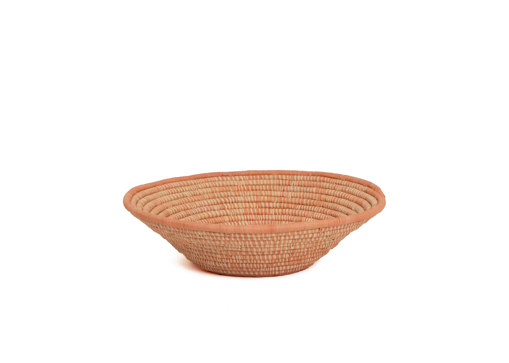 Peach Spotted Large Bowl