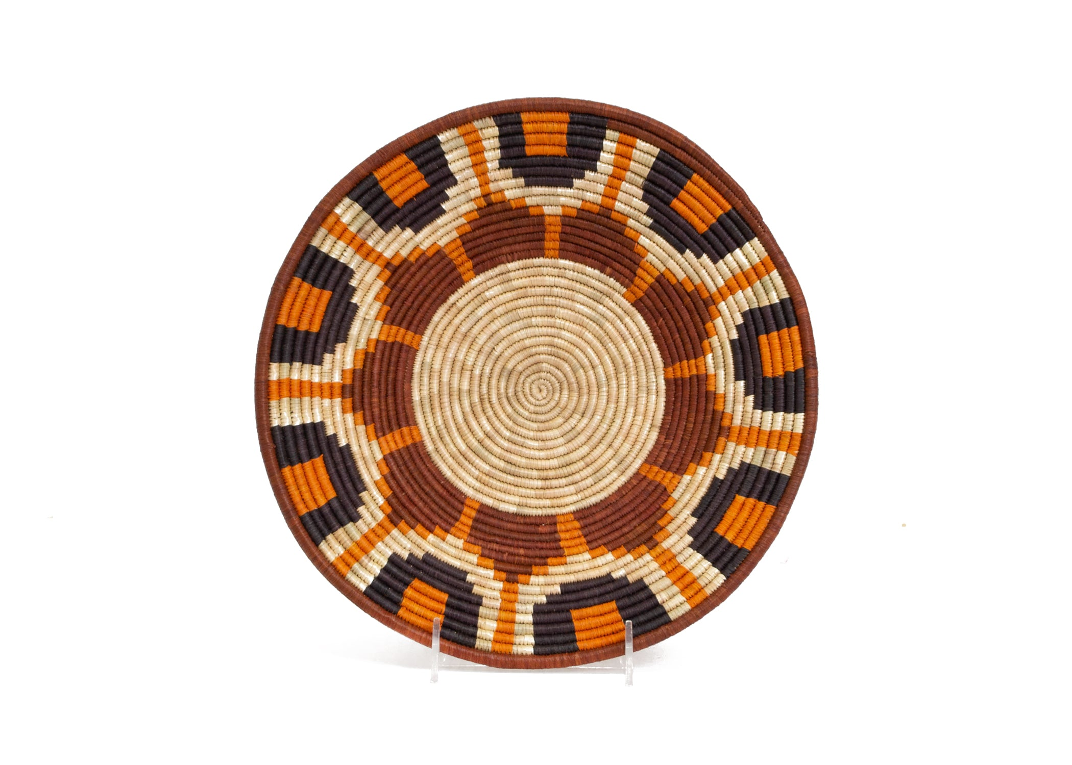Rwenzori Basket VII - KAZI - Artisan made high quality home decor and wall art