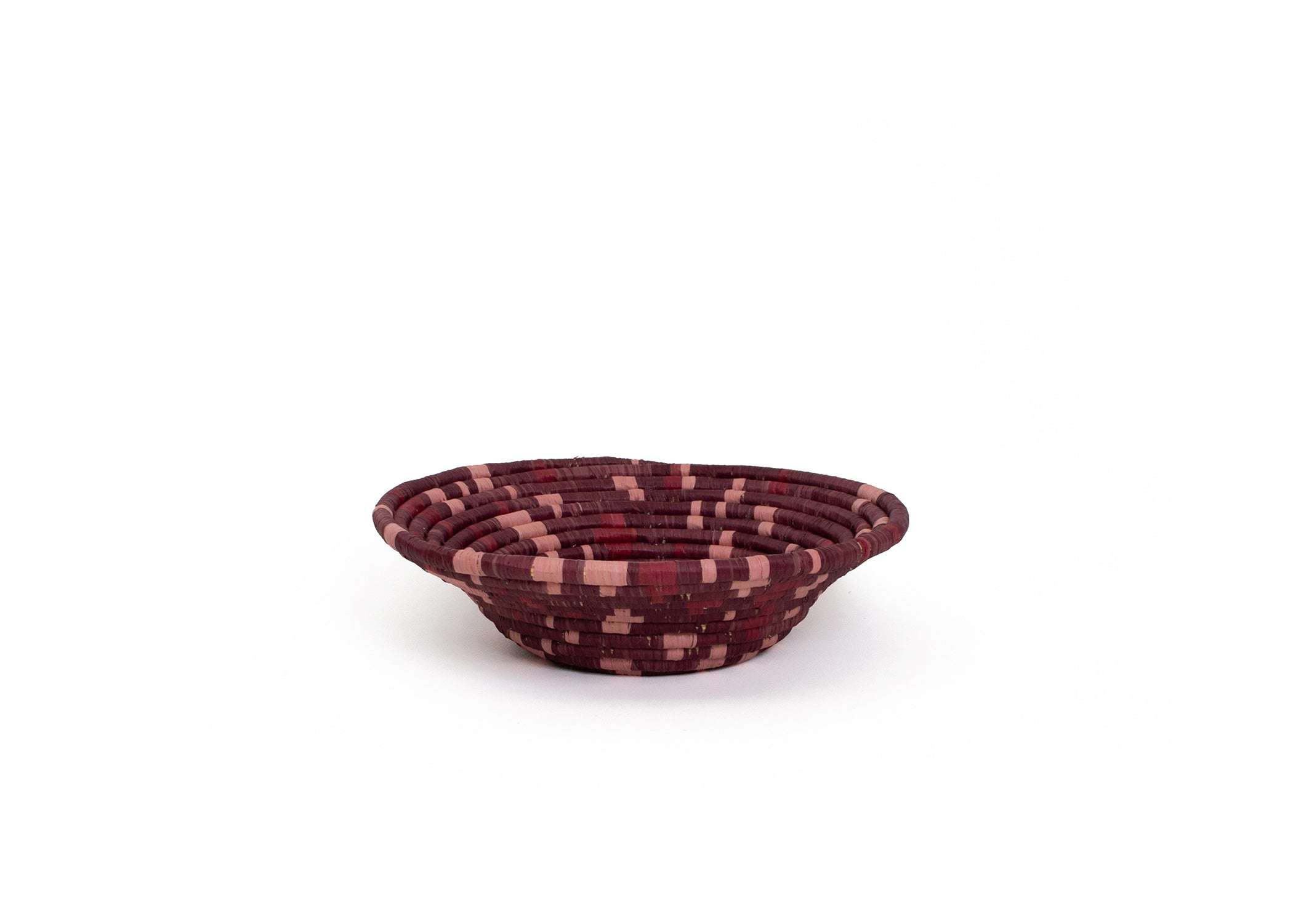 Burgundy Terrazzo Medium Bowl - KAZI - Artisan made high quality home decor and wall art
