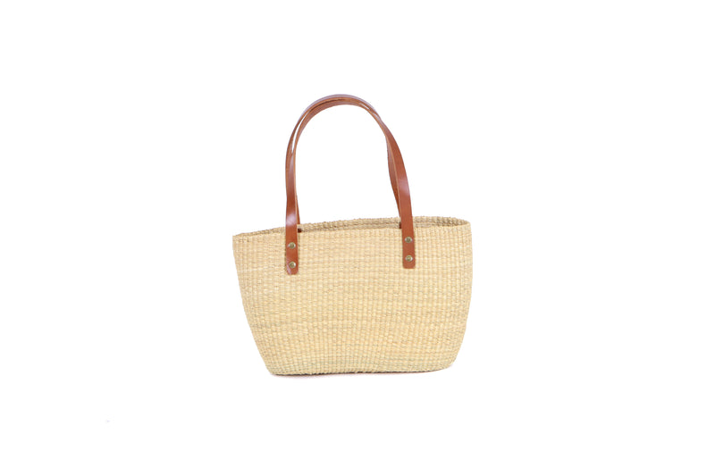 Natural Grass Handbag