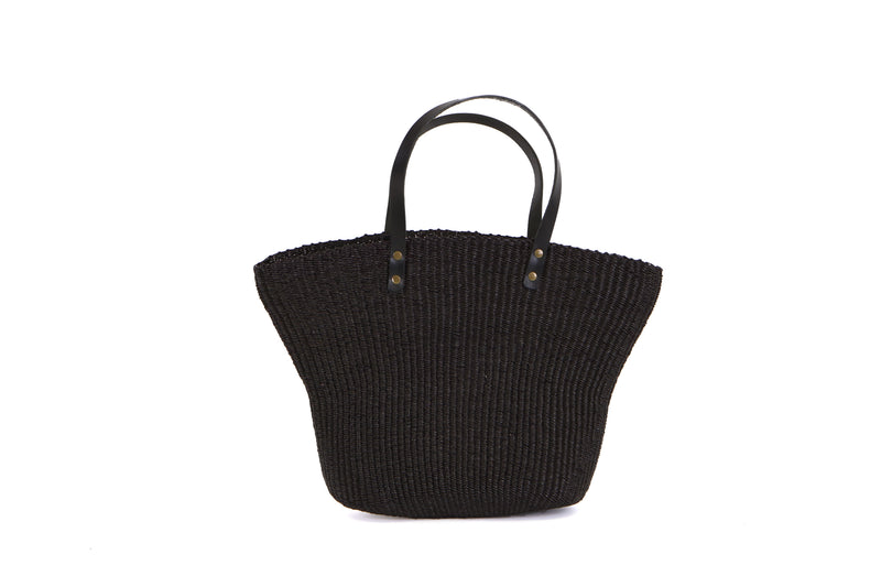 Black Grass Large Tote Bag