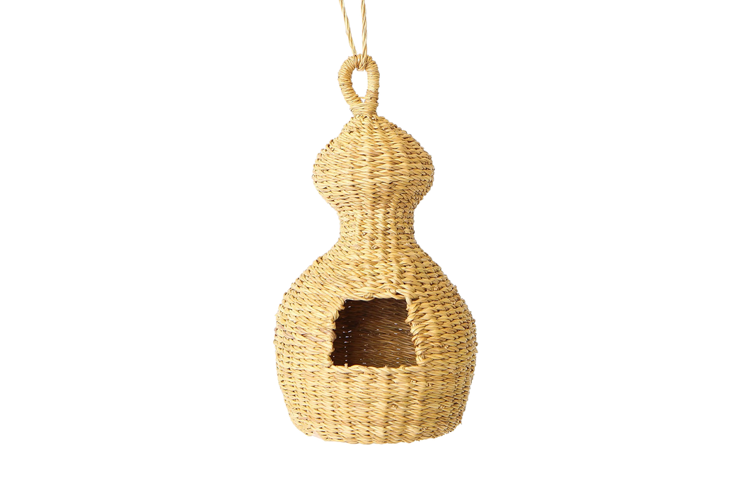 All Natural Camel Hump Birdhouse - KAZI