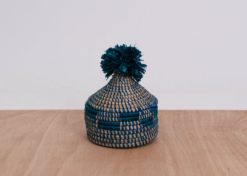 Blue Night Bweta Pom Pom Box