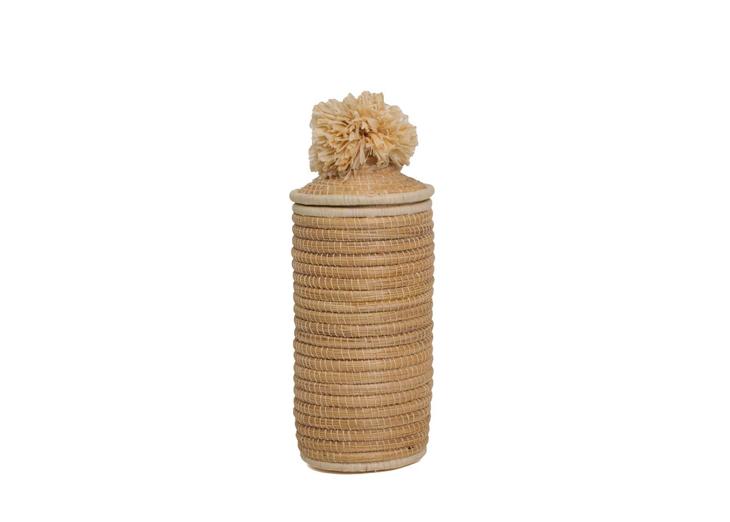 Natural Tina Pom Pom Box - KAZI