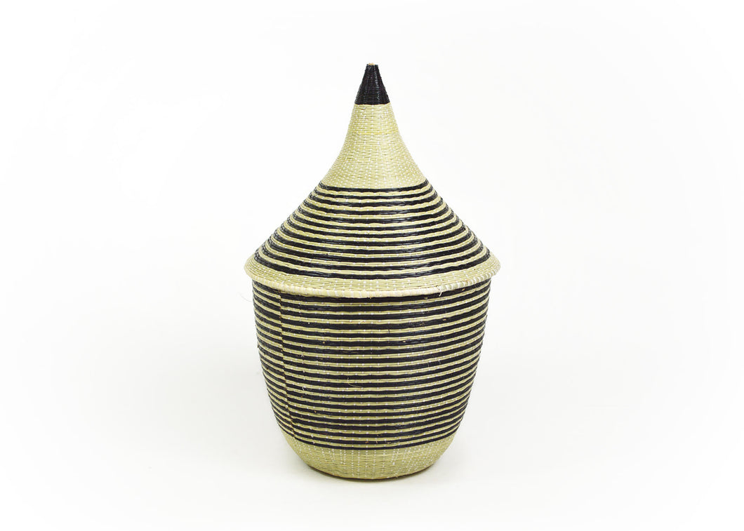 Huye Striped Small Cathedral - KAZI - Artisan made high quality home decor and wall art