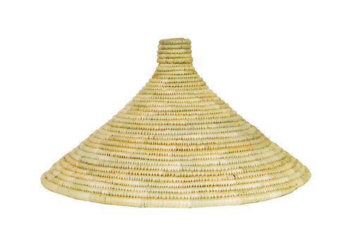 Large Natural Ugandan Lid
