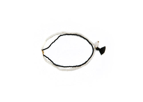 Black + White Upendo Necklace