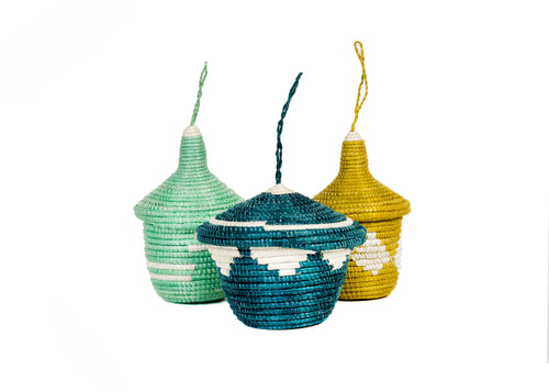 Island Paradise Ubumwe Ornaments, set of 3