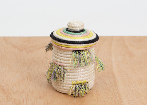 Rhapsody Fringed Trinket Box