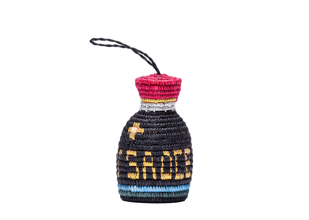 Soy Sauce Bottle Ornament - KAZI - Artisan made high quality home decor and wall art