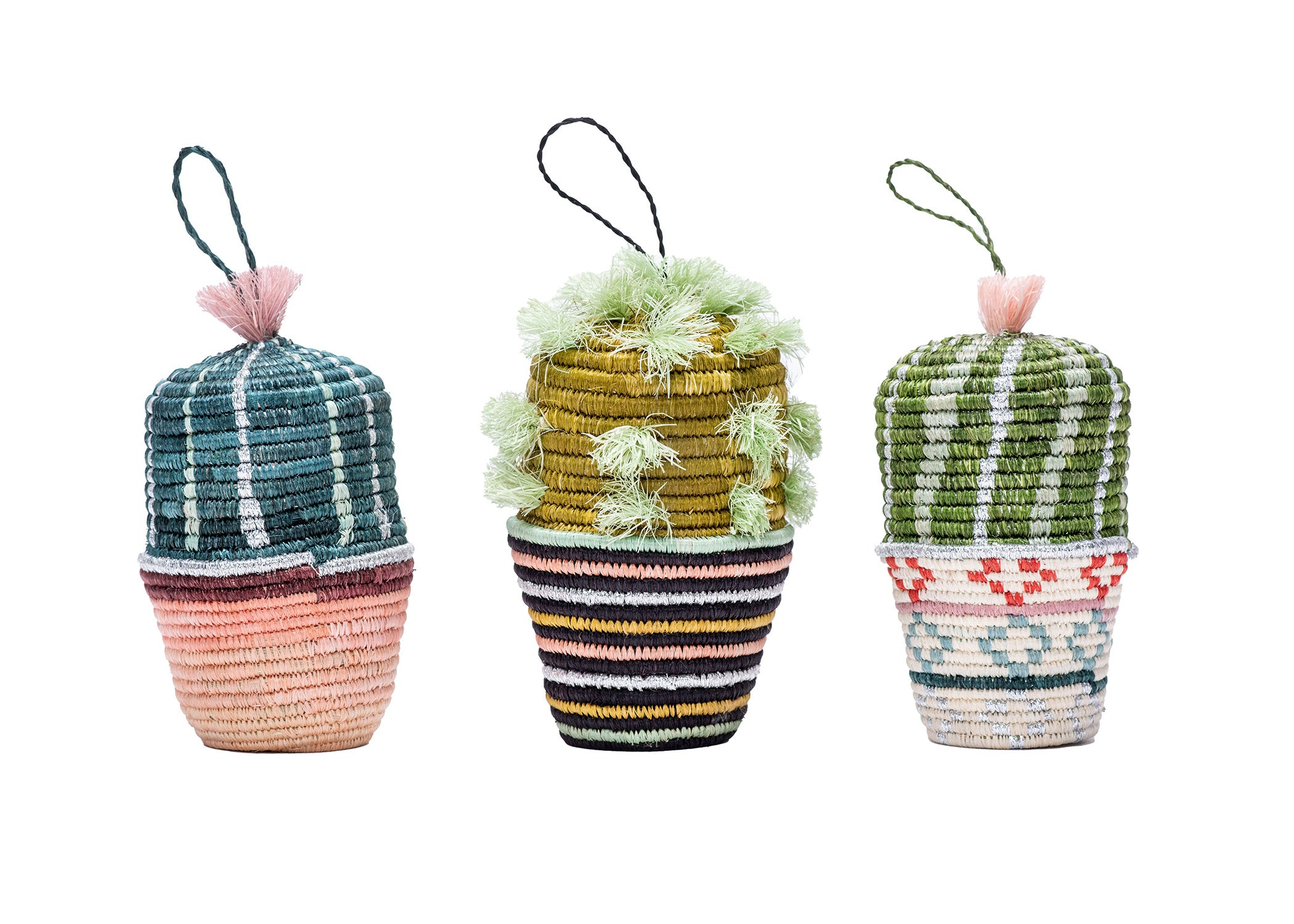 Cactus Planter Ornament 01
