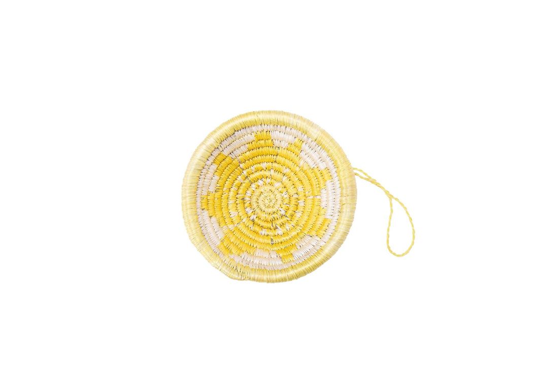 Lemon Basket Ornament - KAZI - Artisan made high quality home decor and wall art