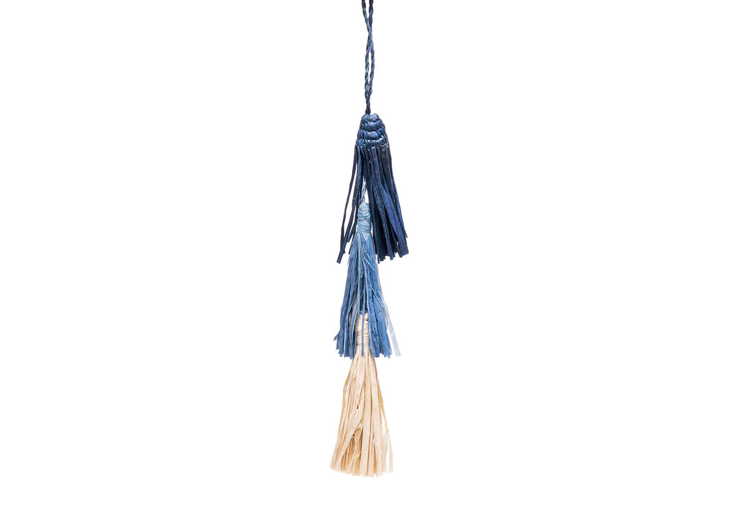 Blue Tassels Ornament