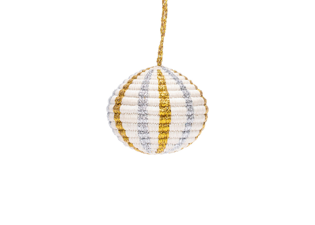 Globe Multi Metallic Ornament