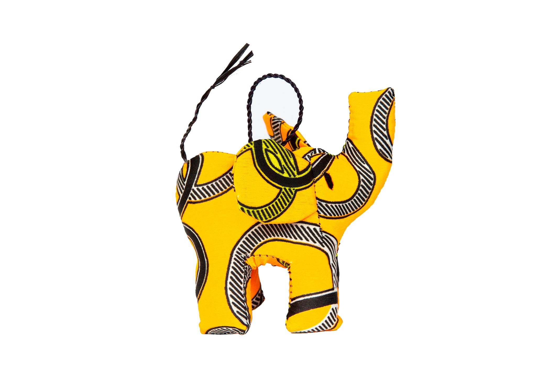 Multi-Colored Elephant Ornament (Assorted Colors) - KAZI - Artisan made high quality home decor and wall art