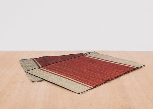 Red Raffia Placemat, Set of 2