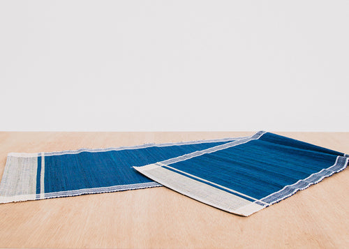 Lake Raffia Table Runner