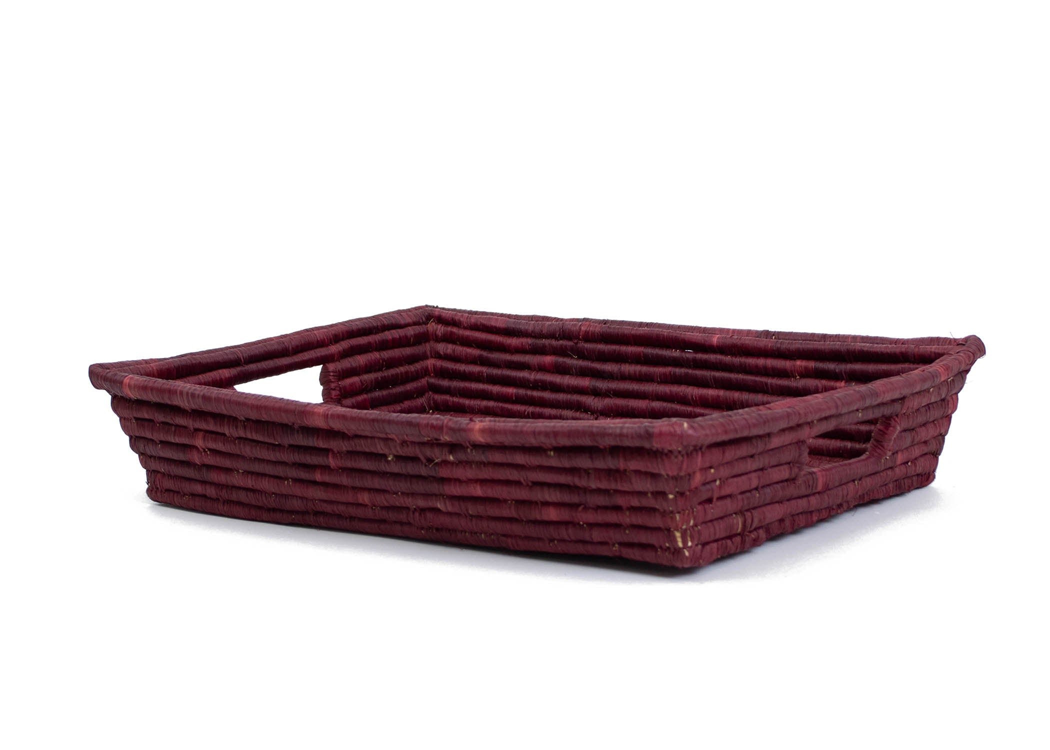 Berry Raffia Tray - KAZI - Artisan made high quality home decor and wall art