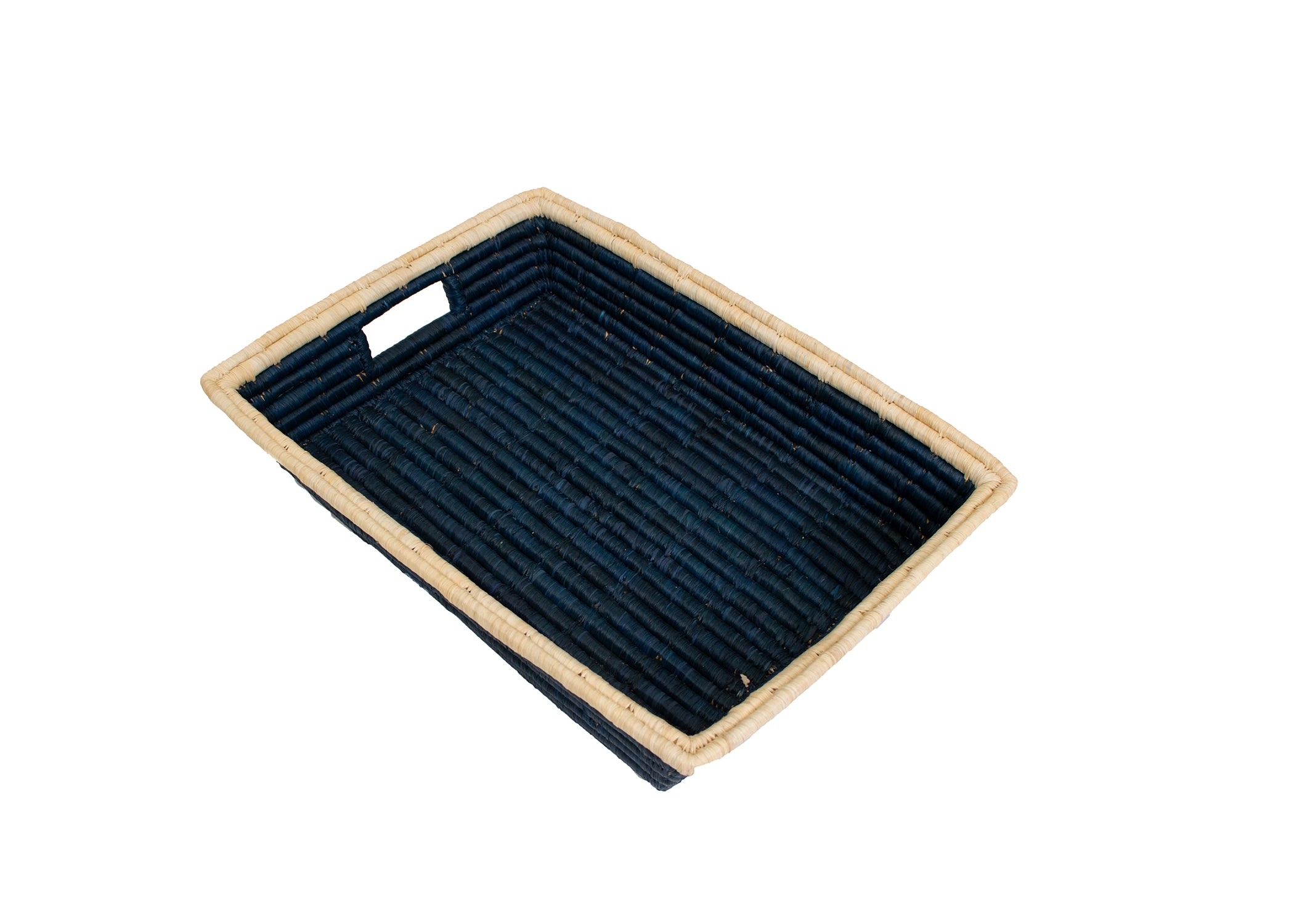 Blue Night Serving Tray - KAZI - Artisan made high quality home decor and wall art