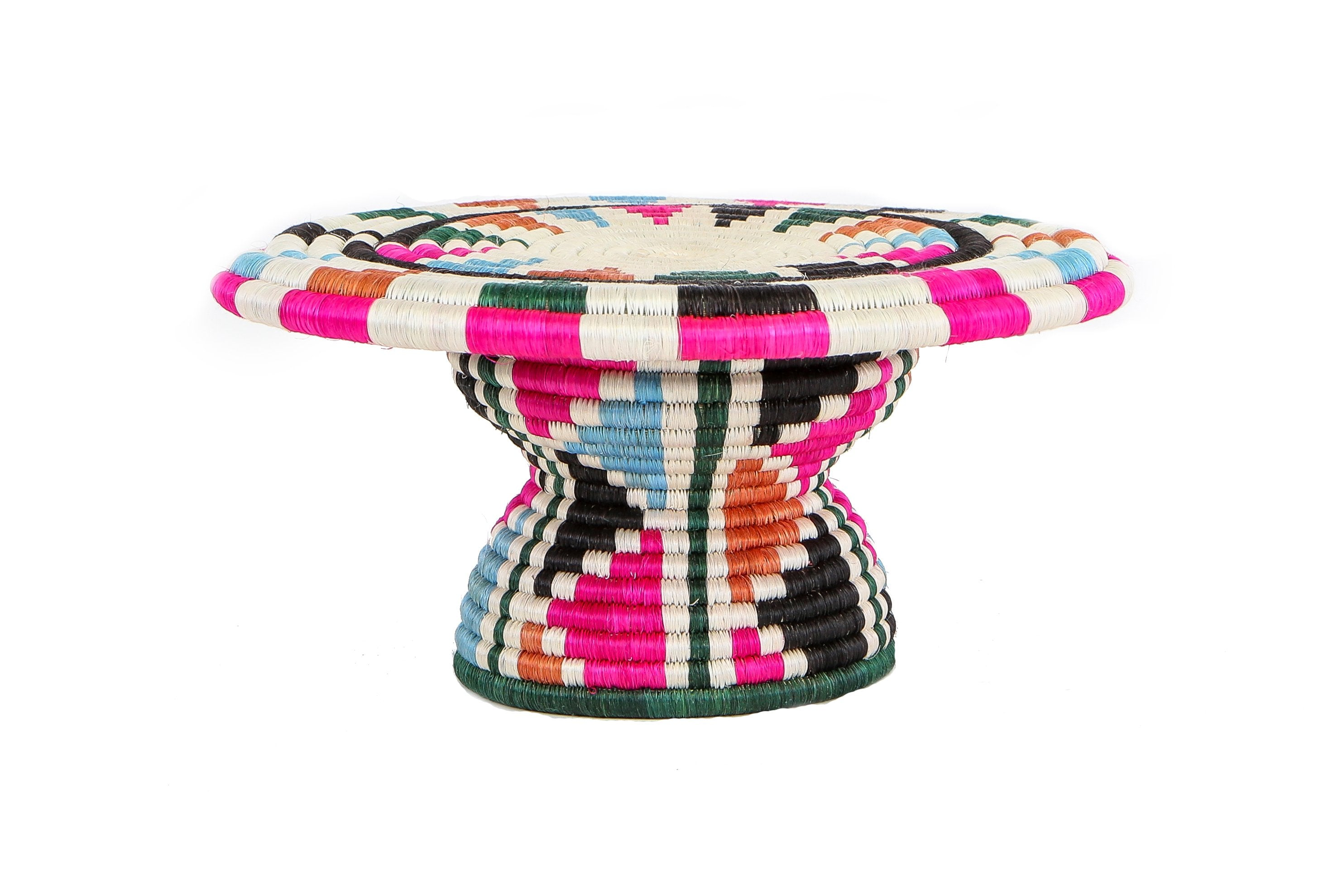 Vivid Viola Cake Stand - KAZI - Artisan made high quality home decor and wall art