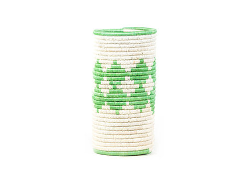 Peppermint Diamond Sisal Vase