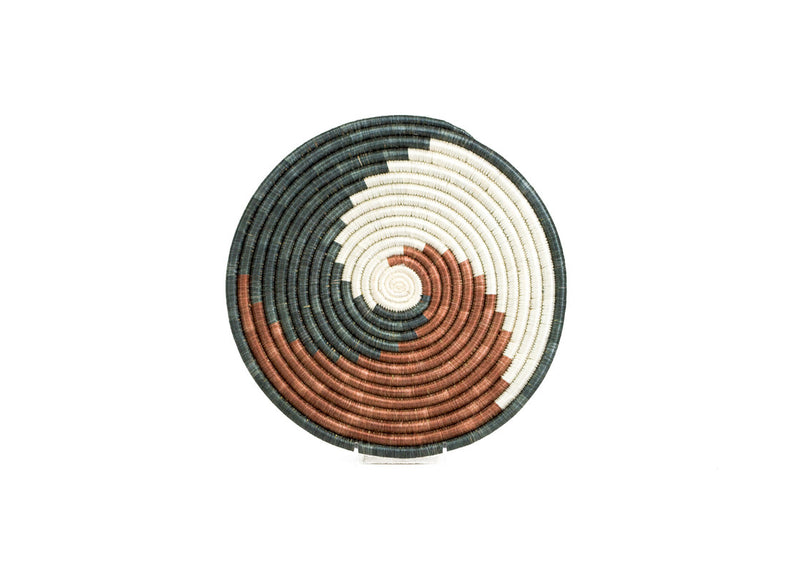 Brown Sugar Rain Swirl Trivet