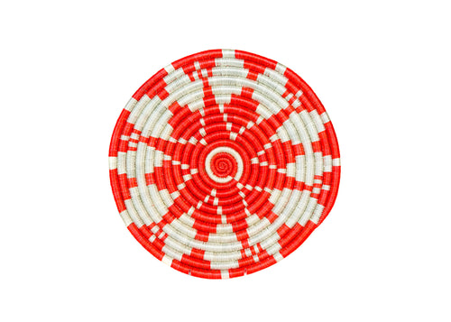 Small Blazing Orange Hope Trivet