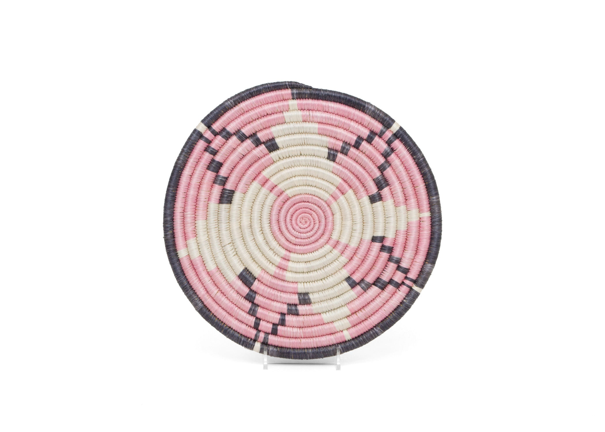 "10"" Blush Pink Hope Trivet - KAZI - Artisan made high quality home decor and wall art"