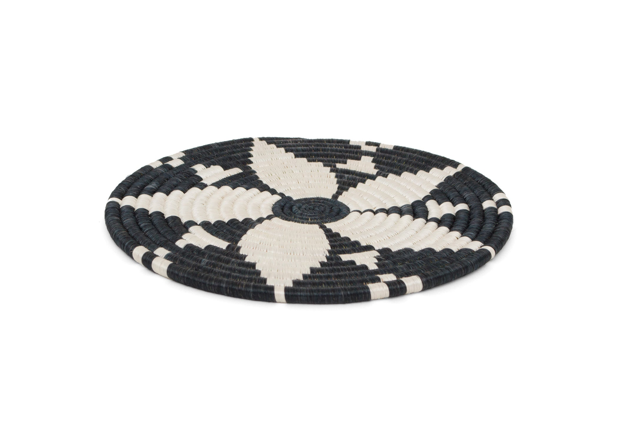 Black + White Hope Trivet - KAZI - Artisan made high quality home decor and wall art