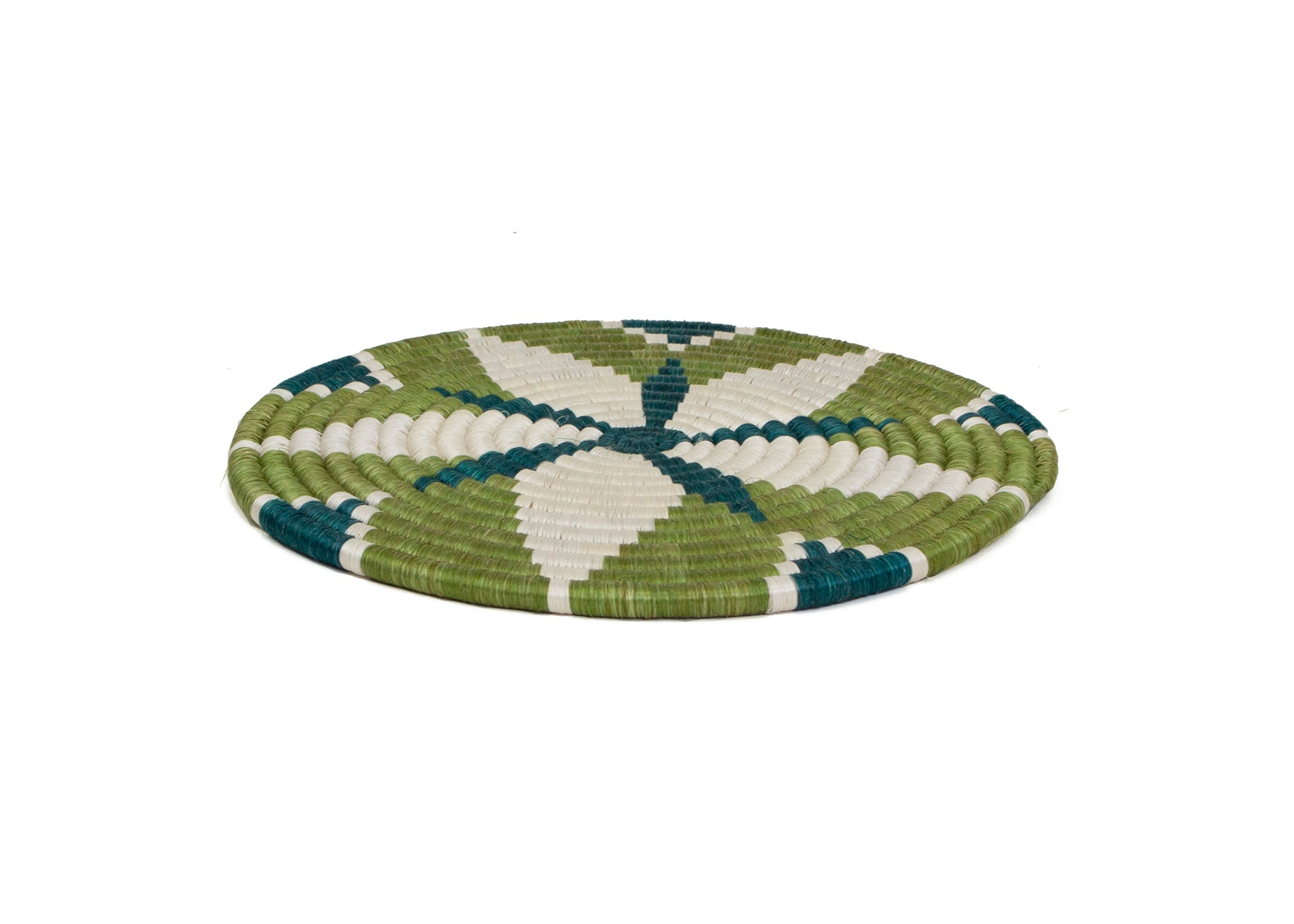 Pastel Green Trivet - KAZI - Artisan made high quality home decor and wall art