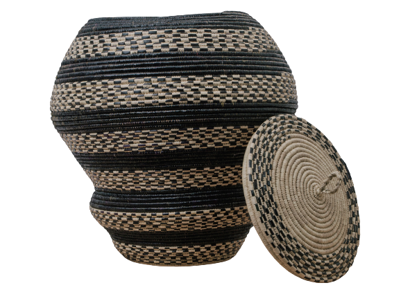 Nubian Floor Basket II