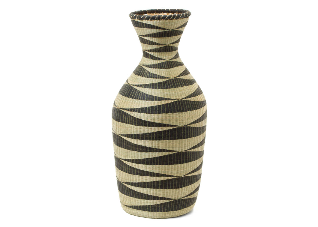 Huye Tall Floor Vase I - KAZI - Artisan made high quality home decor and wall art