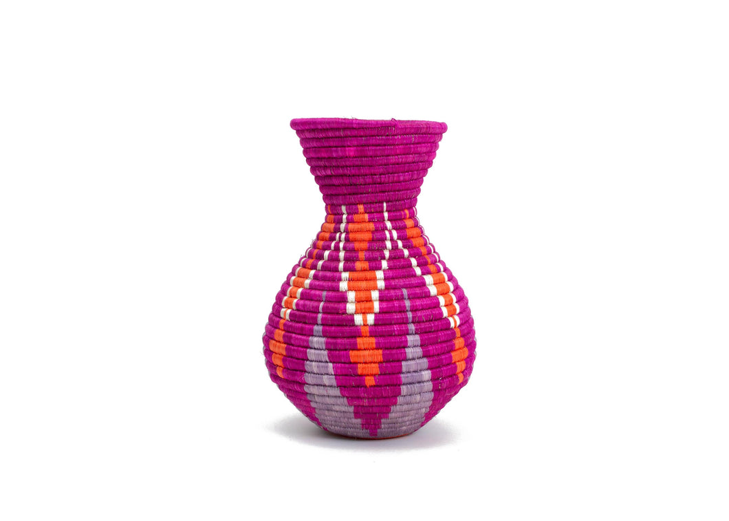 Vivid Viola Mila Vase - KAZI - Artisan made high quality home decor and wall art
