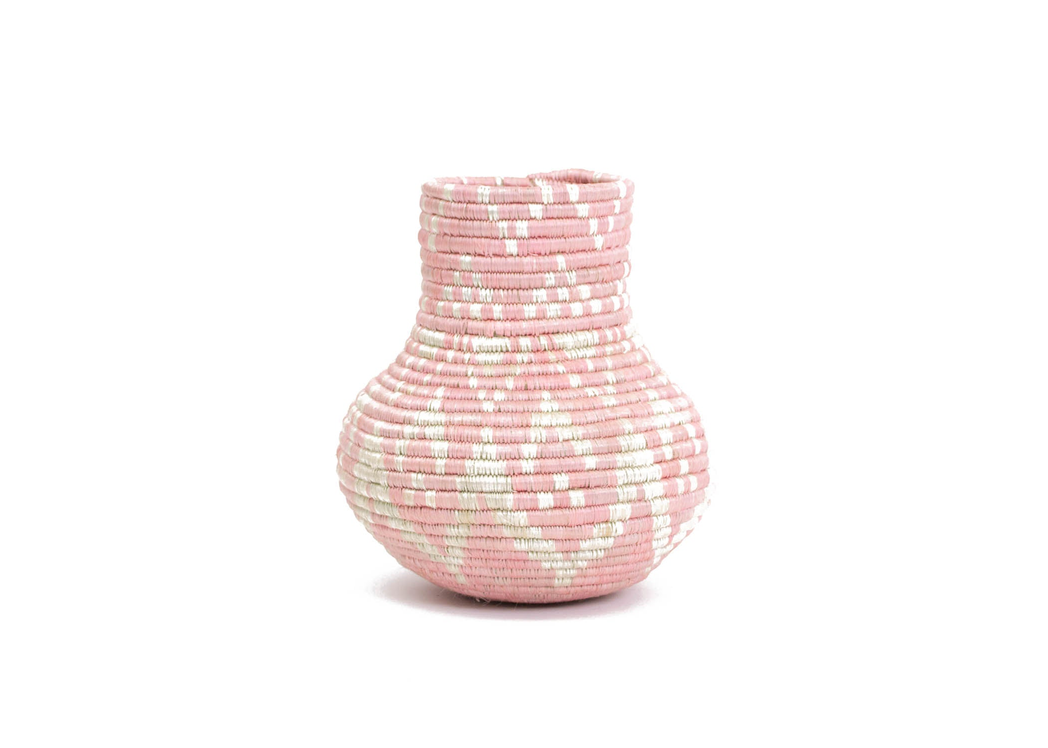 Pale Blush Rangi Vase - KAZI - Artisan made high quality home decor and wall art