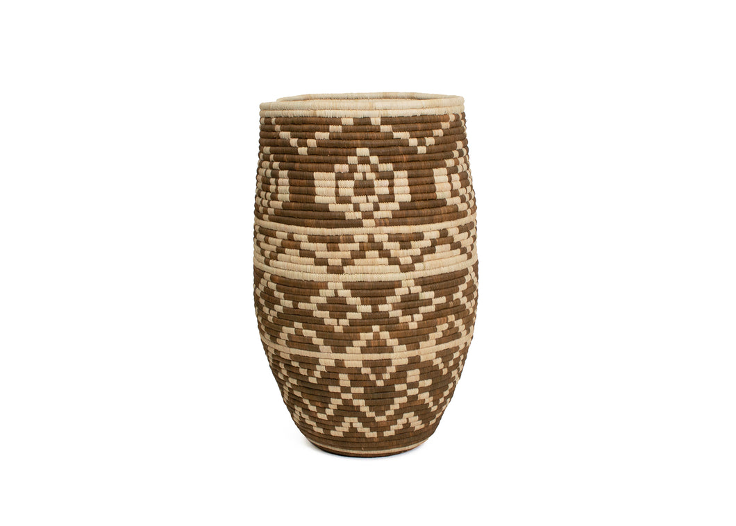 Imani Short Floor Basket - KAZI - Artisan made high quality home decor and wall art