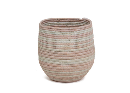 Cloud Pink Striped Dunia Vase