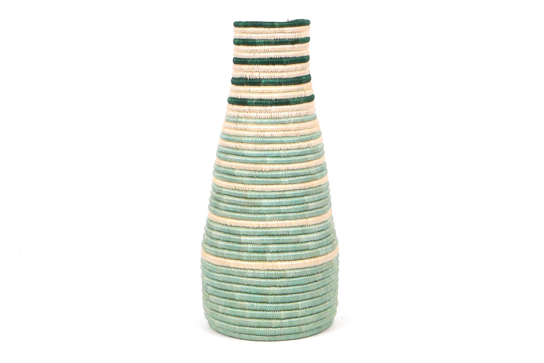 Bayou Striped Tall Vase - KAZI - Artisan made high quality home decor and wall art