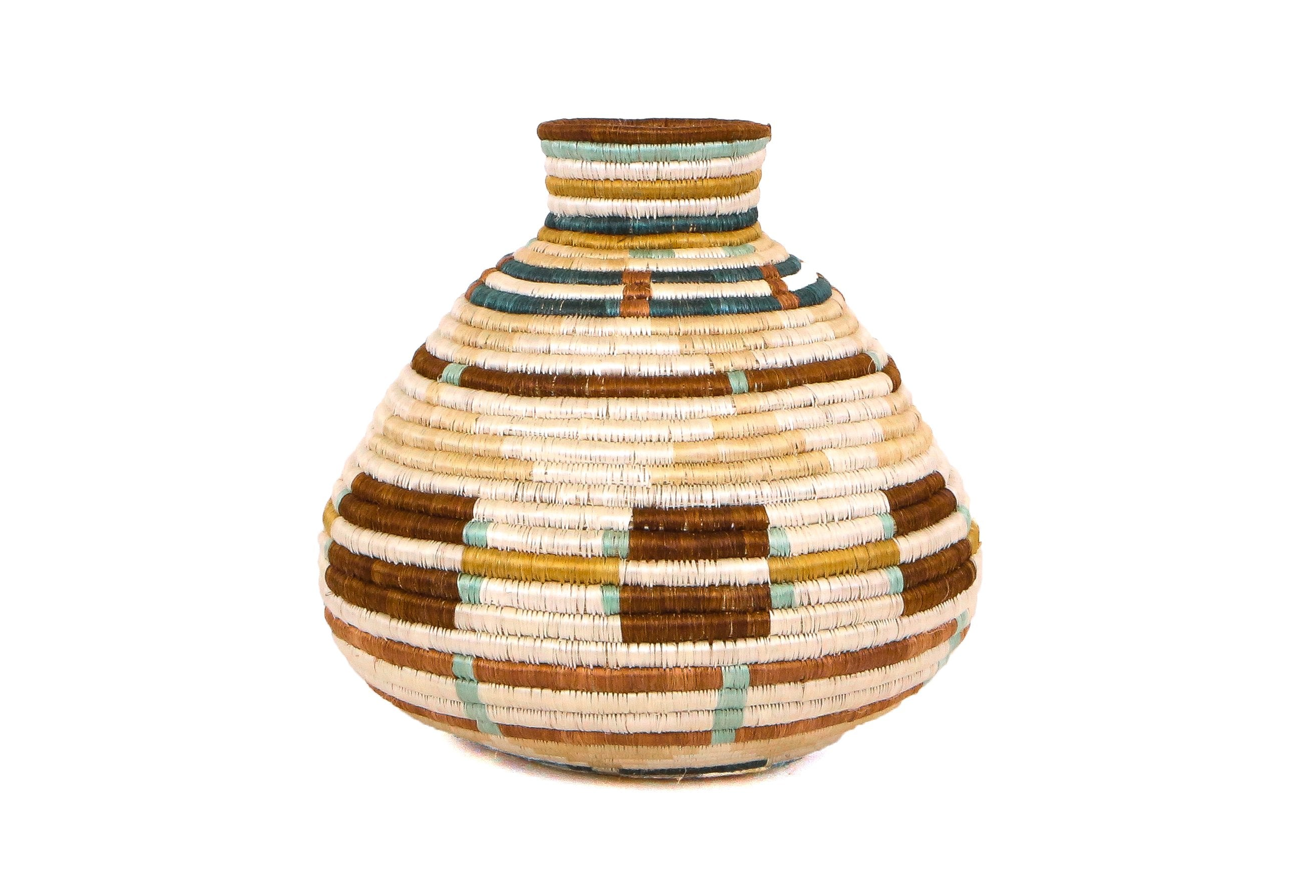 Sand Mpira Vase - KAZI - Artisan made high quality home decor and wall art