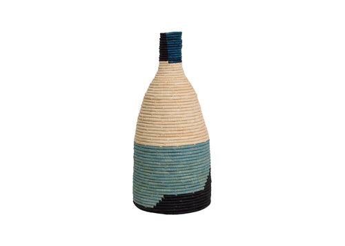 Cool Color Blocked Malia Vase