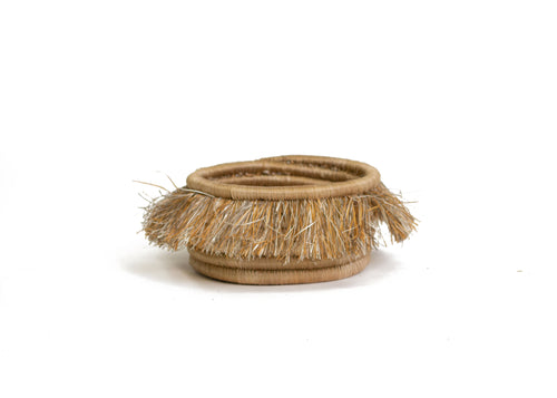 Fringed Camel Wine Bottle Coaster
