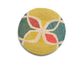 Color Blocked Extra Large Raffia Plate
